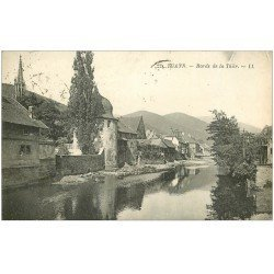carte postale ancienne 68 THANN. Bords de la Thür 1925