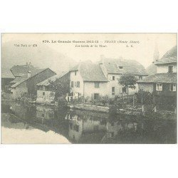 carte postale ancienne 68 THANN. Bords de la Thür 670
