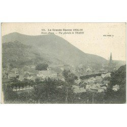 carte postale ancienne 68 THANN. Vue générale