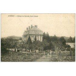 carte postale ancienne 14 AVENAY. Maison de Retraite Saint-Joseph animation