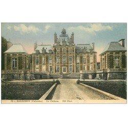 carte postale ancienne 14 BALLEROY. Château 16 en couleur