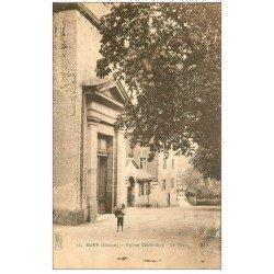 carte postale ancienne 67 BARR. Eglise Catholique le Portail