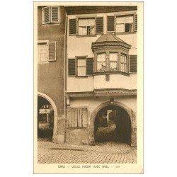 carte postale ancienne 67 BARR. Maison avec Oriel