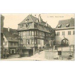 carte postale ancienne 67 BARR. Maison Burckel