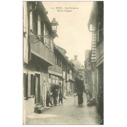 carte postale ancienne 67 BARR. Nid Cigognes rue Hartmann