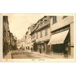 carte postale ancienne 67 BARR. Papeterie sur Grand Rue