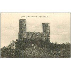 carte postale ancienne 67 BARR. Ruines du Château d'Andlau