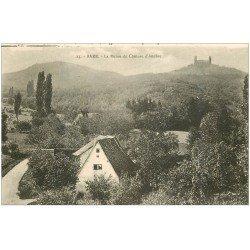 carte postale ancienne 67 BARR. Ruines du Château d'Andlau 23