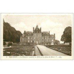 carte postale ancienne 14 BALLEROY. Le Château 5