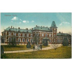 carte postale ancienne 67 HAGUENAU HAGENAU. Bahnhof