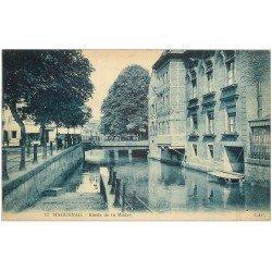 carte postale ancienne 67 HAGUENAU HAGENAU. Brasserie bords de la Moder 1929