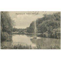 carte postale ancienne 67 HAGUENAU HAGENAU. Partie in den Anlagen 1919