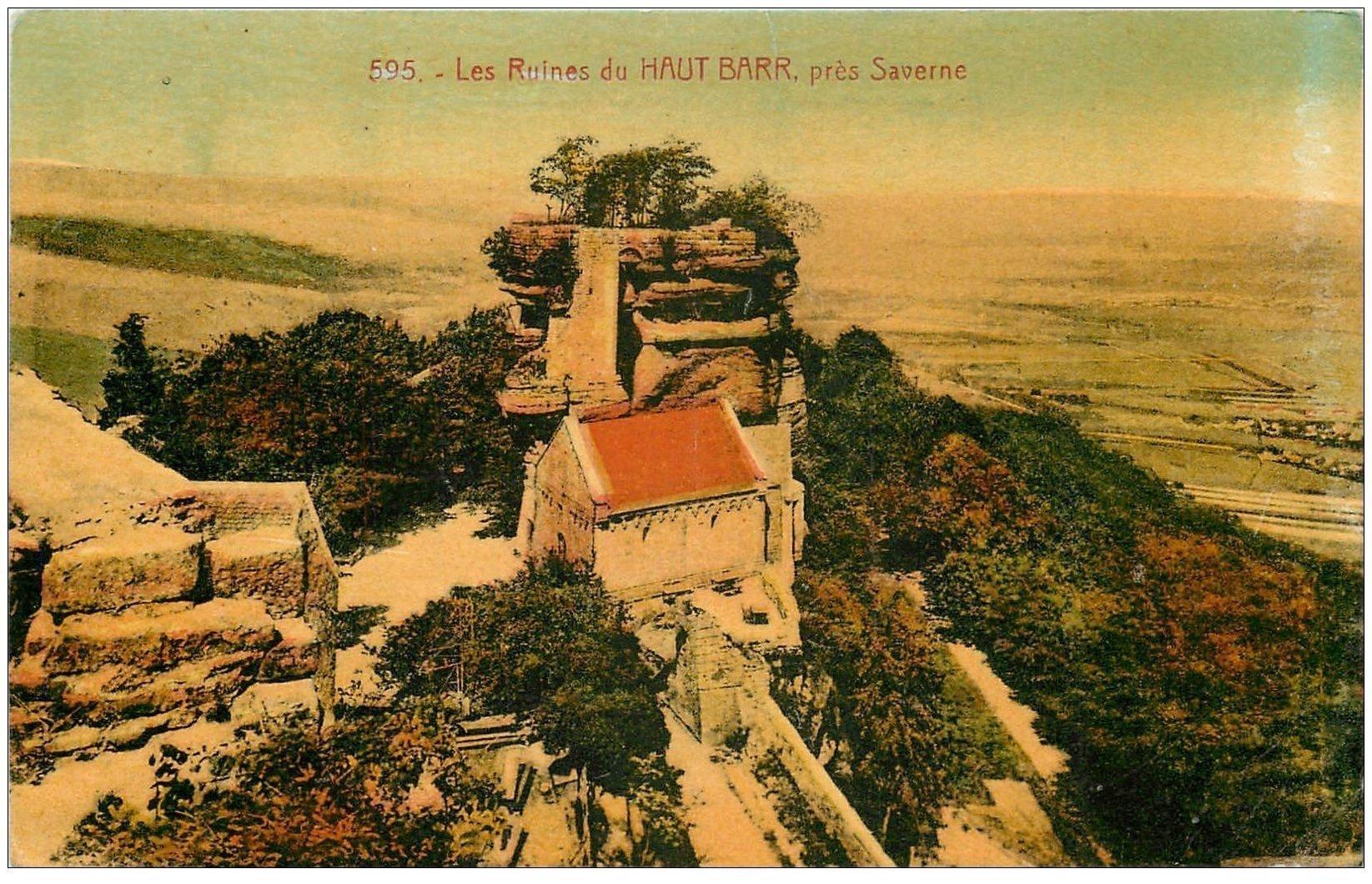 carte postale ancienne 67 HAUT BARR. Les Ruines