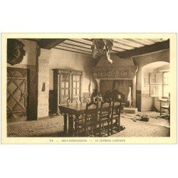carte postale ancienne 67 HAUT-KOENIGSBOURG. Chambre Lorraine