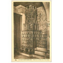 carte postale ancienne 67 HAUT-KOENIGSBOURG. Poêle Salle des Chevaliers