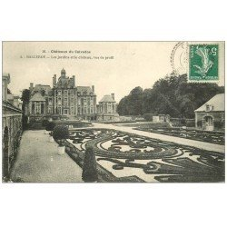 carte postale ancienne 14 BALLEROY. Le Château et Jardins 1908