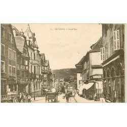 carte postale ancienne 67 SAVERNE ZABERN. Grand'Rue