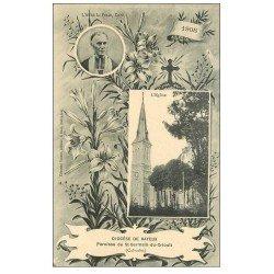 carte postale ancienne 14 BAYEUX. Abbé Pihan Paroisse St-Germain-du-Crioult