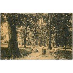 carte postale ancienne 67 STRASBOURG STRASSBURG. Contades 1916
