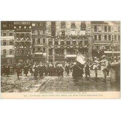 carte postale ancienne 67 STRASBOURG STRASSBURG. Cortège Place Kléber