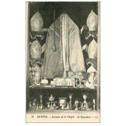 carte postale ancienne 14 BAYEUX. Cathédrale Armoire Chape Rignobert