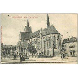 carte postale ancienne 67 STRASBOURG STRASSBURG. Eglise Saint-pierre-le-Vieux 1916