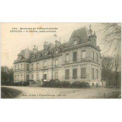 carte postale ancienne 02 COYOLLES. Le Château 1917