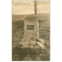 carte postale ancienne 67 WEISSENBURG WISSEMBOURG. Gedenkstein des General Abel Douay