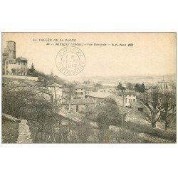 carte postale ancienne 69 ALBIGNY. Vue générale 1919
