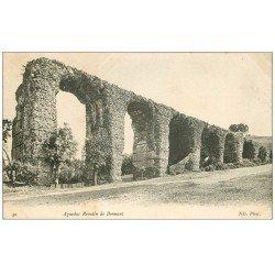 carte postale ancienne 69 AQUEDUC ROMAIN DE BONNANT 1906
