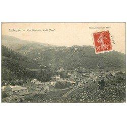 carte postale ancienne 69 BEAUJEU. Personnage dans les Vignes 1909
