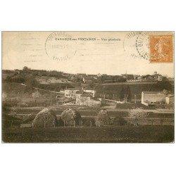 carte postale ancienne 69 CAILLOUX-SUR-FONTAINE 1929. Destinataire Chollet