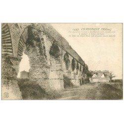 carte postale ancienne 69 CHAPONOST. Aqueducs Romains du Plat-de-l'Air