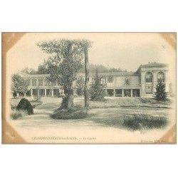 carte postale ancienne 69 CHARBONNIERES-LES-BAINS. Le Casino envoyée qu'en 1928