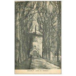 carte postale ancienne 69 CHARLY. Château l'Allée 1922