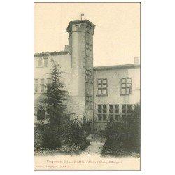 carte postale ancienne 69 CHAZAY-D'AZERGUES. Château des Abbés d'Ainay