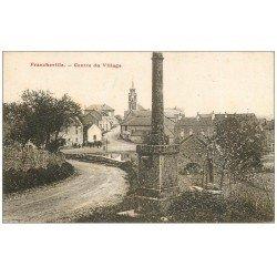 carte postale ancienne 21 FRANCHEVILLE. Centre du Village 1934
