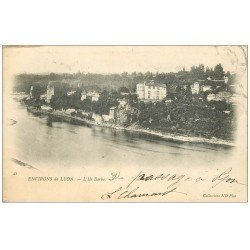 carte postale ancienne 69 L'ILE BARBE 1902