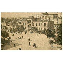 carte postale ancienne 69 LYON. Cour Honneur Hôpital Edouard Herriot