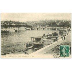 carte postale ancienne 69 LYON. Croix Rousse 1912