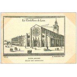carte postale ancienne 69 LYON. Eglise des Cordeliers