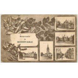 carte postale ancienne 72 BONNETABLE. Multivues 1931