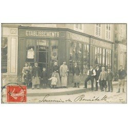 72 BONNETABLE. Top introuvable. Etablissements Economiques de Touraine 1907 Carte Photo rare ( Rue de la Rochelle ) ?...
