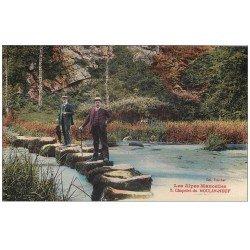 carte postale ancienne 72 CHAPELET DU MOULIN-NEUF. Saugé-le-Ganelon le Gué Ory 1930