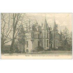 carte postale ancienne 72 CHATEAU DE LA PERRIGNE 1904. Savigné-l'Evêque