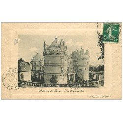 carte postale ancienne 72 CHATEAU DE LUDE 1912