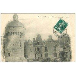 carte postale ancienne 72 CHATEAU DE MONTIMER-LA-PERRIERE 1909