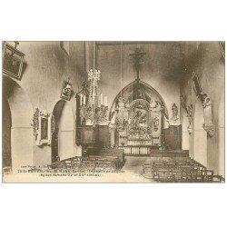 carte postale ancienne 72 ESTIVAL-LES-LE MANS. Intérieur de l'Eglise