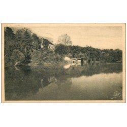 carte postale ancienne 72 FRESNAY-SUR-SARTHE. Moulin de la Coursure 1947