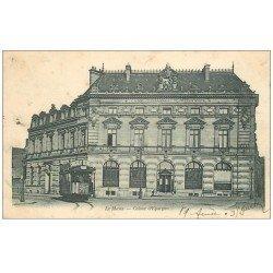 carte postale ancienne 72 LE MANS. Caisse d'Epargne Boulevard Levasseur 1903